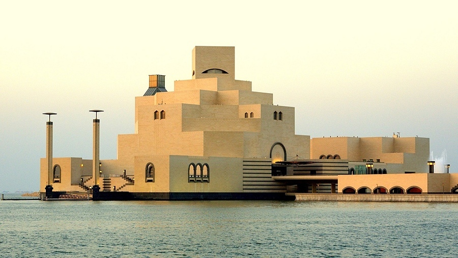 Museum of Islamic Arts, Doha, Qatar | ZEISS G PLANAR 45MM F2 <br> Click image for more details, Click <b>X</b> on top right of image to close
