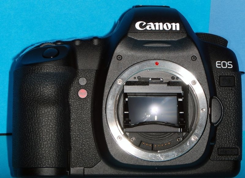 Canon 5DMkII Body with shortened mirror | LENS MODEL NOT SET <br> Click image for more details, Click <b>X</b> on top right of image to close