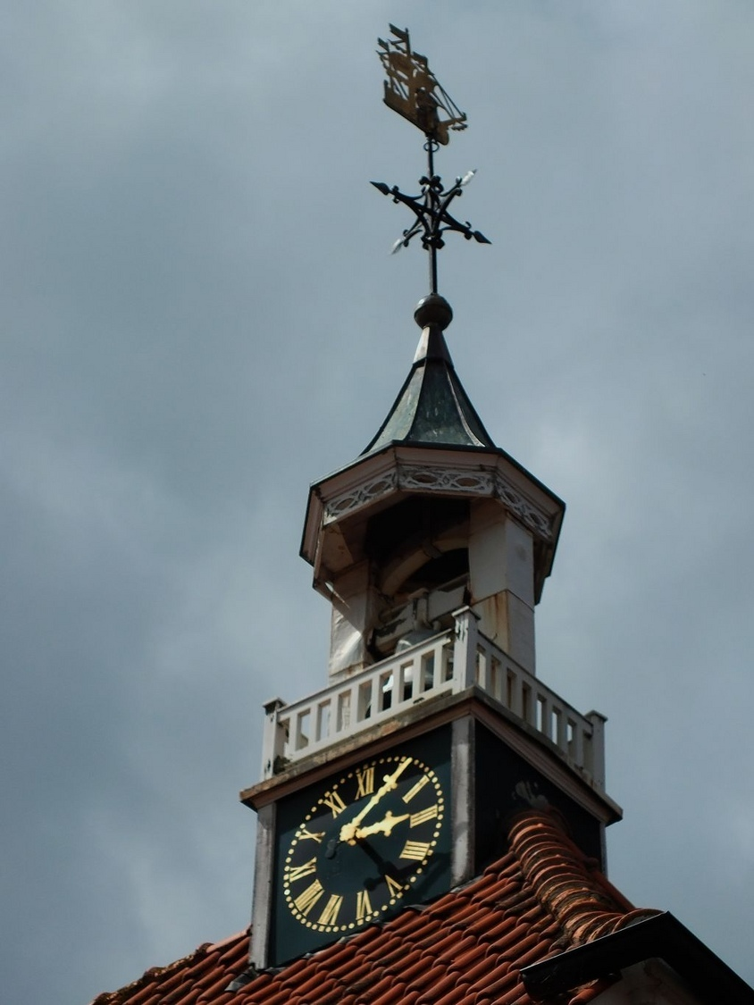 Fisher men's church clock tower | ZEISS CY TELE-APOTESSAR 300MM F2.8 <br> Click image for more details, Click <b>X</b> on top right of image to close