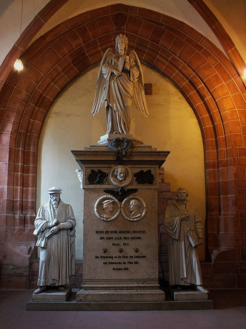 Protestant Union Memorial from 1880 at Kaiserslautern Stiftskirche | ZEISS CY DISTAGON 25MM F2.8 <br> Click image for more details, Click <b>X</b> on top right of image to close