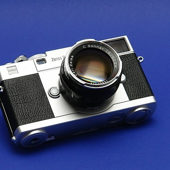 Memories of ZEISS IKON RF camera | LENS MODEL NOT SET <br> Click image for more details, Click <b>X</b> on top right of image to close