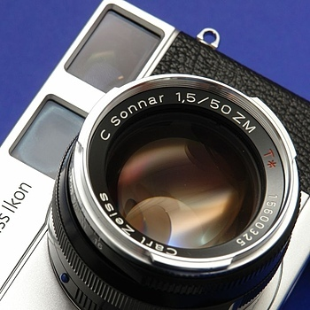ZEISS C SONNAR T* 1,5/50mm ZM | LENS MODEL NOT SET <br> Click image for more details, Click <b>X</b> on top right of image to close