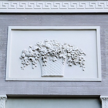 Facade decoration | ZEISS CY PLANAR 135MM F2 <br> Click image for more details, Click <b>X</b> on top right of image to close