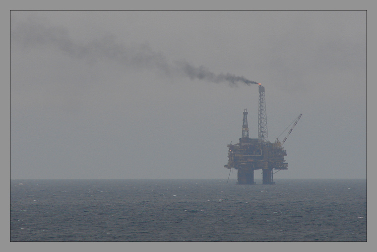Tower of the North Sea oil drilling | LENS MODEL NOT SET <br> Click image for more details, Click <b>X</b> on top right of image to close