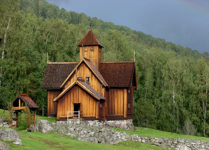 Wooden church in Norway | LENS MODEL NOT SET <br> Click image for more details, Click <b>X</b> on top right of image to close