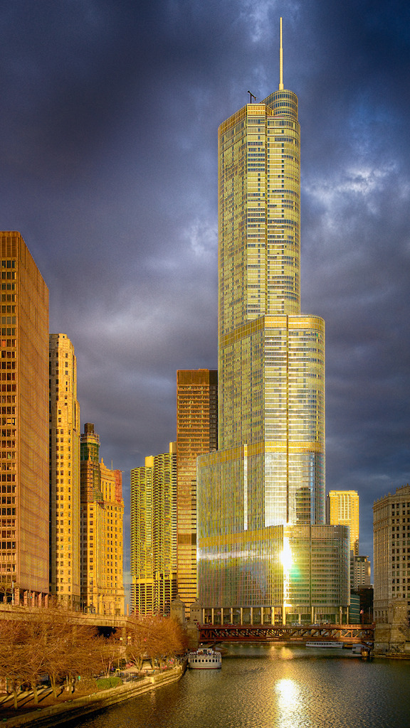 Trump Tower - Chicago | ZEISS FE 35MM F2.8 ZA <br> Click image for more details, Click <b>X</b> on top right of image to close