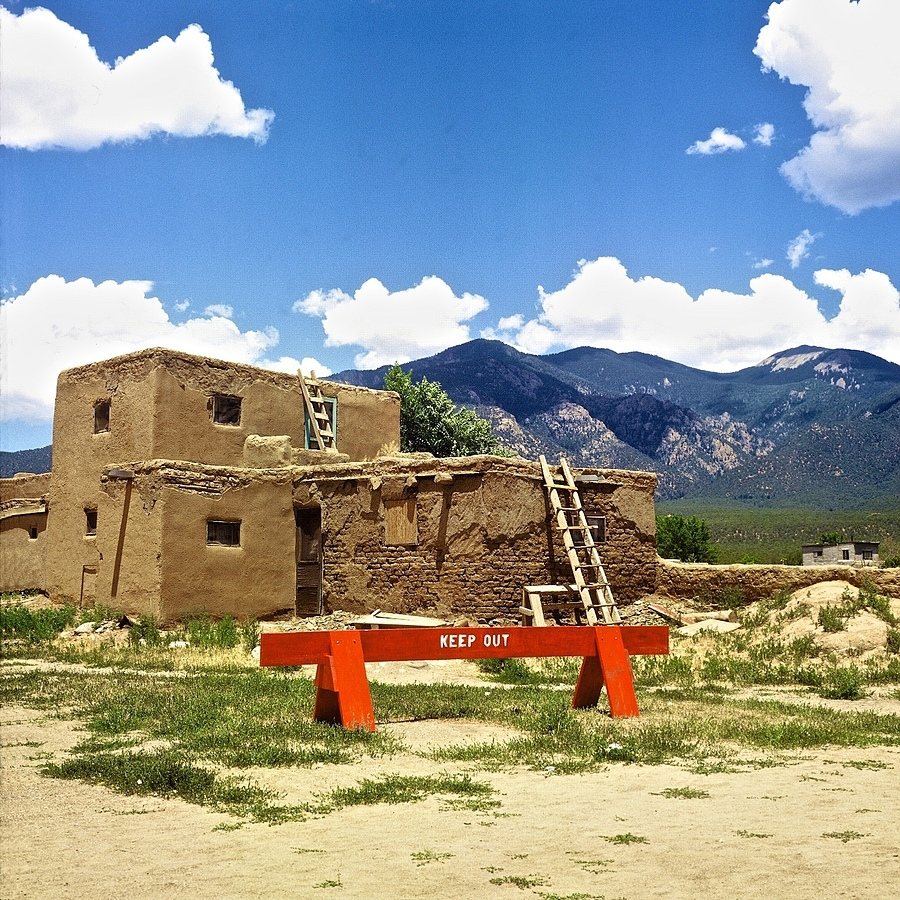 Taos Pueblo 1 | ZEISS C PLANAR 80MM F2.8 <br> Click image for more details, Click <b>X</b> on top right of image to close