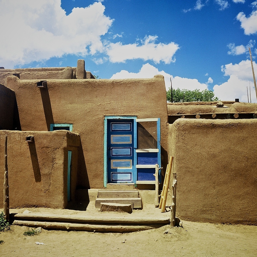 Taos Pueblo 2 | ZEISS C PLANAR 80MM F2.8 <br> Click image for more details, Click <b>X</b> on top right of image to close