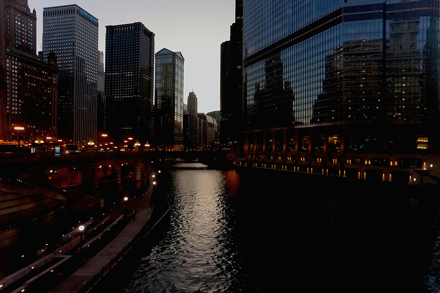 Chicago River at Dusk | ZEISS CY DISTAGON 21MM F2.8 <br> Click image for more details, Click <b>X</b> on top right of image to close