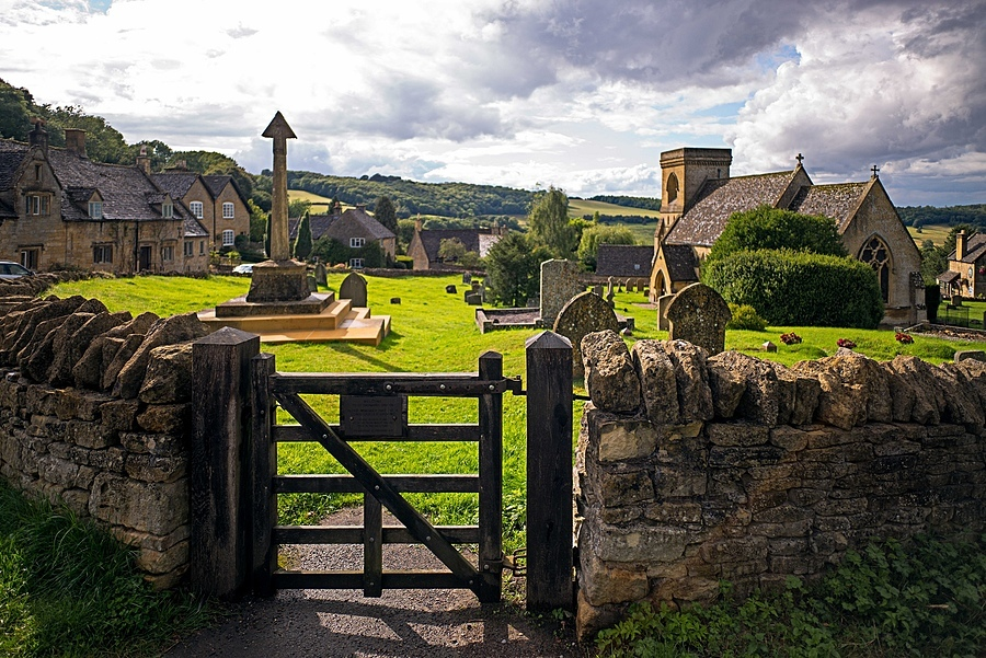 Snowshill Cotswolds church and cemetery | ZEISS ZM BIOGON F2.8 21MM <br> Click image for more details, Click <b>X</b> on top right of image to close