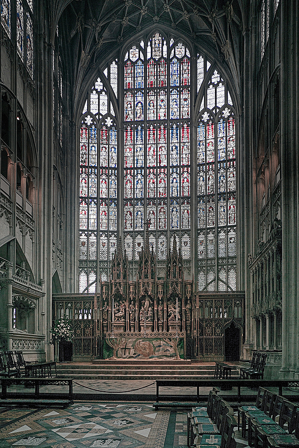Gloucester Cathedral Ladies Chapel | ZEISS ZM BIOGON F2.8 21MM <br> Click image for more details, Click <b>X</b> on top right of image to close