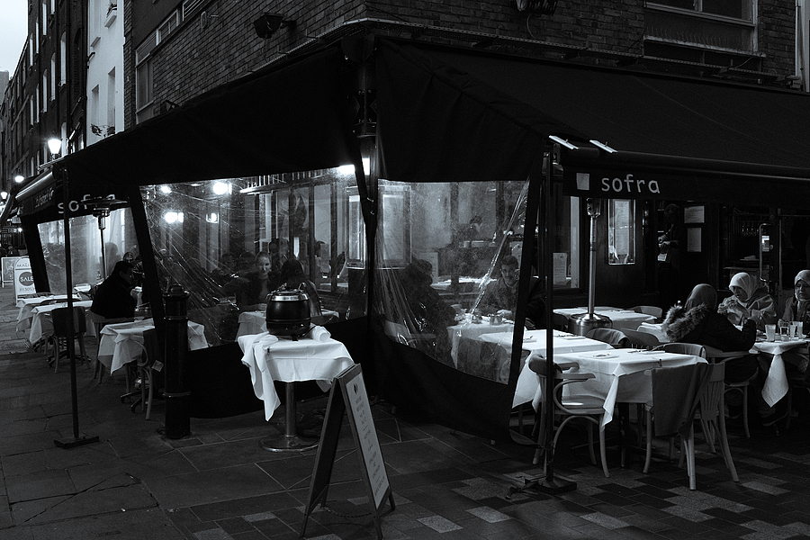 Sofra Restaurant St Christopher Place London | ZEISS ZEISS SONNAR 35MM F2 <br> Click image for more details, Click <b>X</b> on top right of image to close