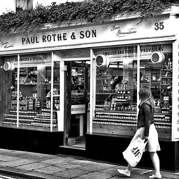 Paul Rothe Delicatessen Marylebone | ZEISS SONNAR 55MM F1.8 FE ZA <br> Click image for more details, Click <b>X</b> on top right of image to close