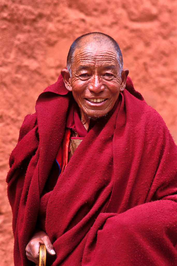 Lama , Tibet | ZEISS CY PLANAR 85MM F1.2 ANNIVERSARY LENS <br> Click image for more details, Click <b>X</b> on top right of image to close
