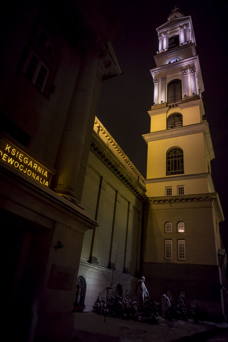 Basilica of the Sacred Heart of Jesus in Warsaw #4 | ZEISS G HOLOGON 16MM F8 <br> Click image for more details, Click <b>X</b> on top right of image to close