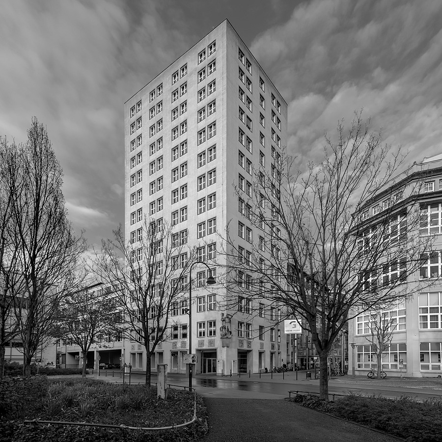04 / Bau 36 - Ernst Abbe Highrise Building | CARL ZEISS JENA FLEKTOGON 4/20 M42 <br> Click image for more details, Click <b>X</b> on top right of image to close