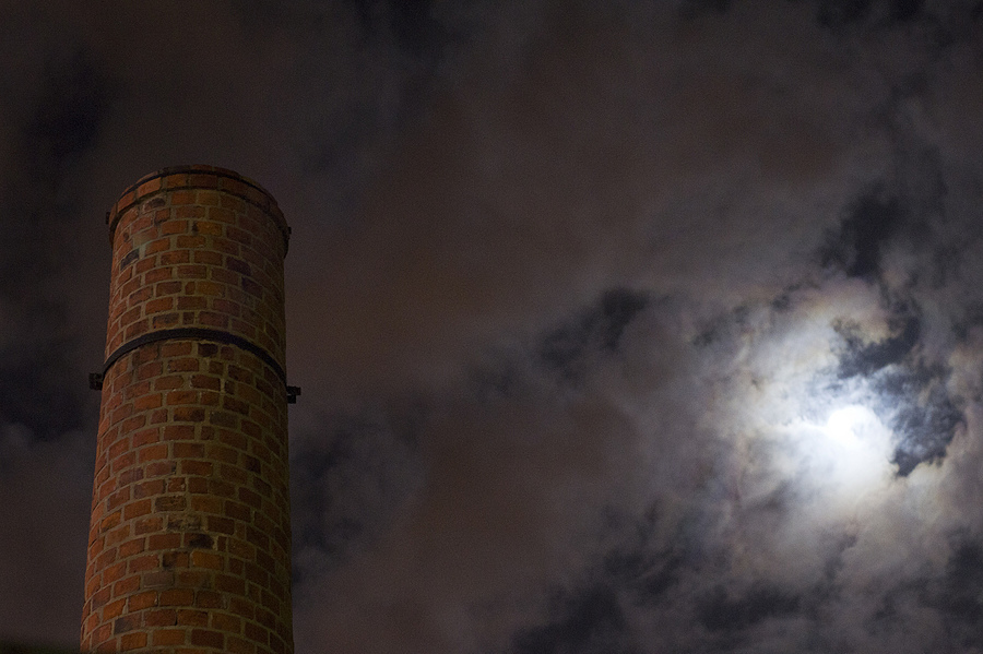 Old Factory at Night | ZEISS CY PLANAR 50MM F1.4 <br> Click image for more details, Click <b>X</b> on top right of image to close
