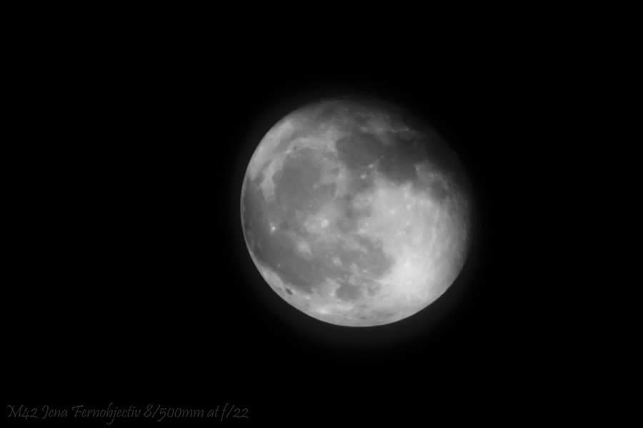 Moon by Fernobjectiv 8/500mm | LENS MODEL NOT SET <br> Click image for more details, Click <b>X</b> on top right of image to close