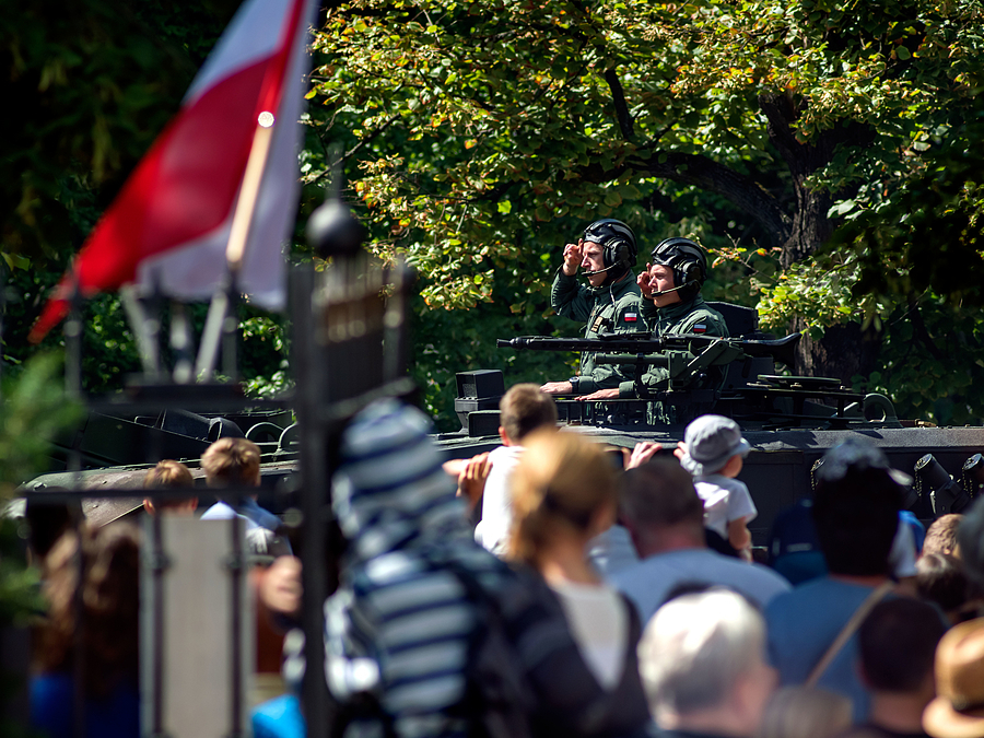 Armed Forces Day (Poland) 3/6 | ZEISS F TELE-TESSAR4/350 <br> Click image for more details, Click <b>X</b> on top right of image to close