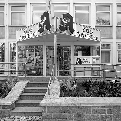 16 / Pharmacy at Zeiss Polyclinic | CARL ZEISS JENA FLEKTOGON 4/20 M42 <br> Click image for more details, Click <b>X</b> on top right of image to close