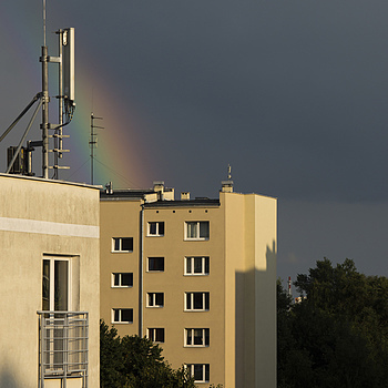 Shortness of Rainbow | ZEISS JENA PRAKTICAR 80MM F1.8 <br> Click image for more details, Click <b>X</b> on top right of image to close