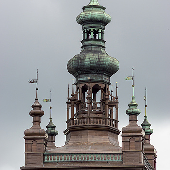 Tower's Top of St Catherine Church in Danzig | ZEISS CY MAKRO-PLANAR 100MM F2.8