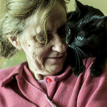 My Mother with Camillie | ZEISS JENA PANCOLAR 55MM F1.4