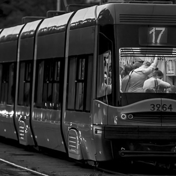The Tram #3 | ZEISS JENNA SONNAR 200MM F2.8 <br> Click image for more details, Click <b>X</b> on top right of image to close