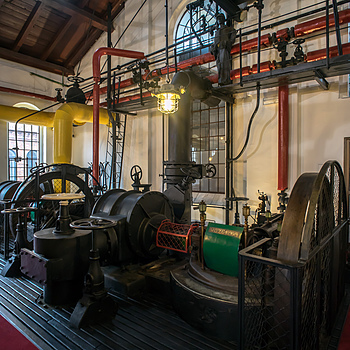 Warsaw Gasworks Museum #5 | ZEISS CY DISTAGON 18MM F4 <br> Click image for more details, Click <b>X</b> on top right of image to close