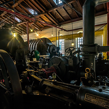 Warsaw Gasworks Museum #4 | ZEISS CY DISTAGON 18MM F4 <br> Click image for more details, Click <b>X</b> on top right of image to close