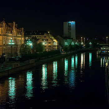 Brda River at Night (Blomberg #B) | ZEISS JENA PANCOLAR 55MM F1.4