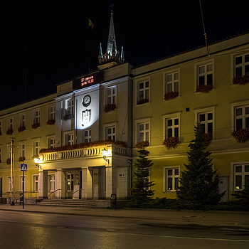 Zgierz at Night (Local Authority Office) | ZEISS ZA DISTAGON 24MM F2.0
