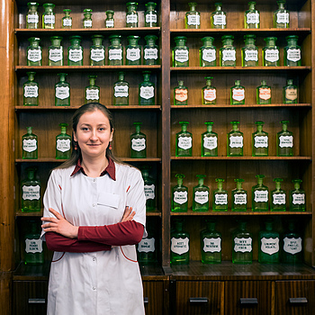 Second Portait of Pharmacist | ZEISS DISTAGON F1.4 35MM <br> Click image for more details, Click <b>X</b> on top right of image to close