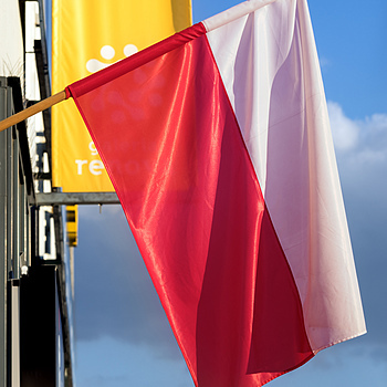 Polish Flag Day | ZEISS JENA CZJ BIOMETAR 120MM F2.8