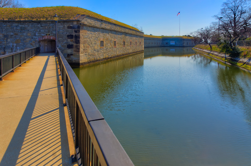 Moat - Fort Monroe, Virginia I | ZEISS ZA VARIO-SONNAR DT F3.5-F4.5 16-80MM <br> Click image for more details, Click <b>X</b> on top right of image to close