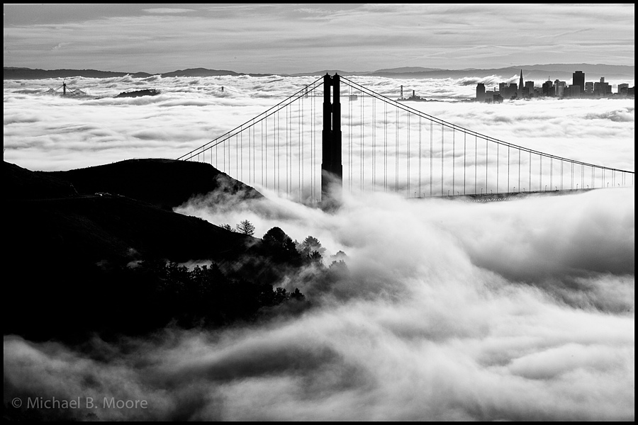 Fog at the Gate | ZEISS PLANAR F1.4 85MM <br> Click image for more details, Click <b>X</b> on top right of image to close