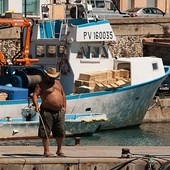 Fisherman of Port Vendres | LENS MODEL NOT SET <br> Click image for more details, Click <b>X</b> on top right of image to close