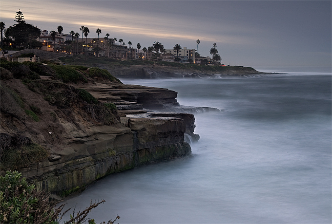 Early Morning La Jolla | ZEISS MAKRO PLANAR F2.0 50MM <br> Click image for more details, Click <b>X</b> on top right of image to close