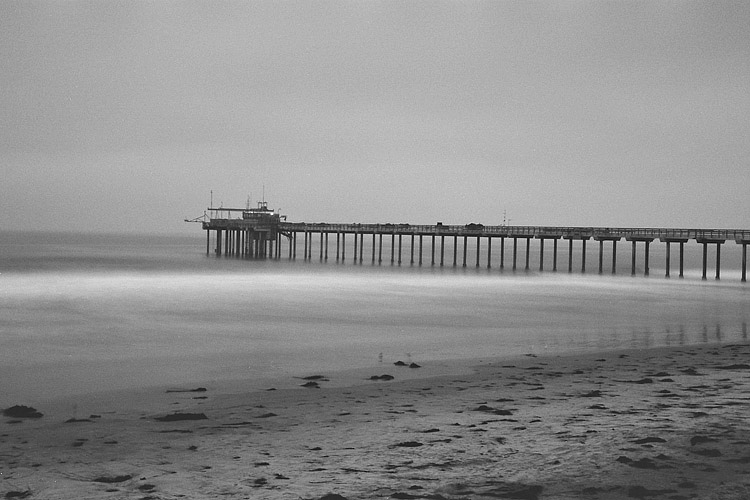 Scripps Pier | ZEISS MAKRO PLANAR F2.0 50MM <br> Click image for more details, Click <b>X</b> on top right of image to close