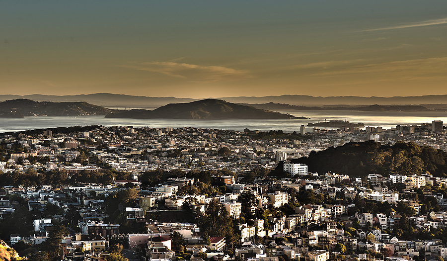 Alcatraz from Twin Peaks | ZEISS ZA VARIO-SONNAR F2.8 24–70MM <br> Click image for more details, Click <b>X</b> on top right of image to close