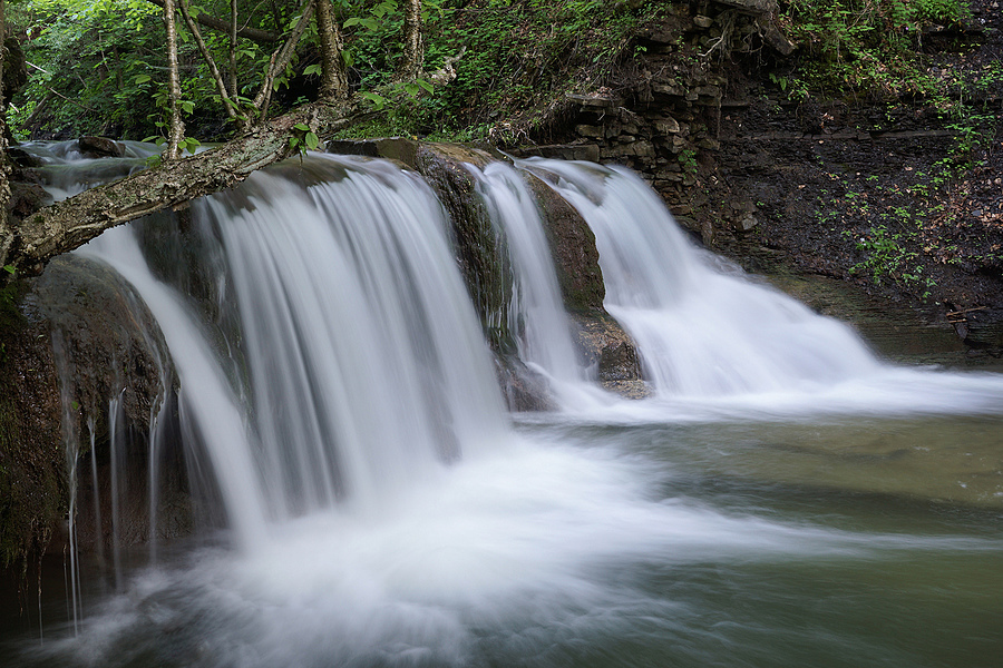Saw Mill Falls II, Van Hornesville, NY | ZEISS ZA VARIO-SONNAR F2.8 24–70MM <br> Click image for more details, Click <b>X</b> on top right of image to close