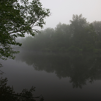 Early Morning on the Schroon River