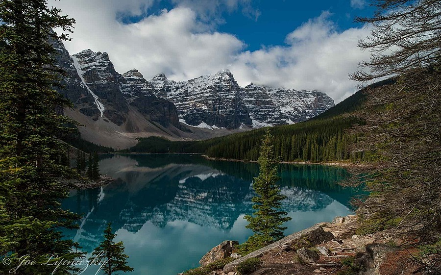 Moraine Lake | ZEISS DISTAGON F2.8 21MM <br> Click image for more details, Click <b>X</b> on top right of image to close