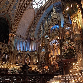 Notre Dame Basilica, Montreal Qu. | LENS MODEL NOT SET <br> Click image for more details, Click <b>X</b> on top right of image to close
