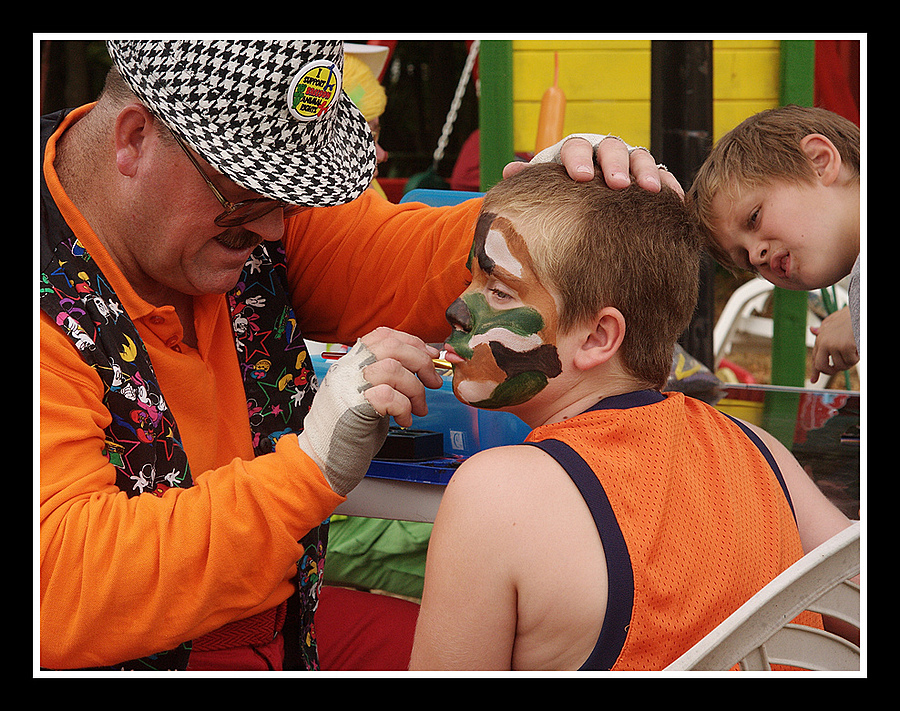 Face Painting | ZEISS ZM C SONNAR F1.5 50MM <br> Click image for more details, Click <b>X</b> on top right of image to close