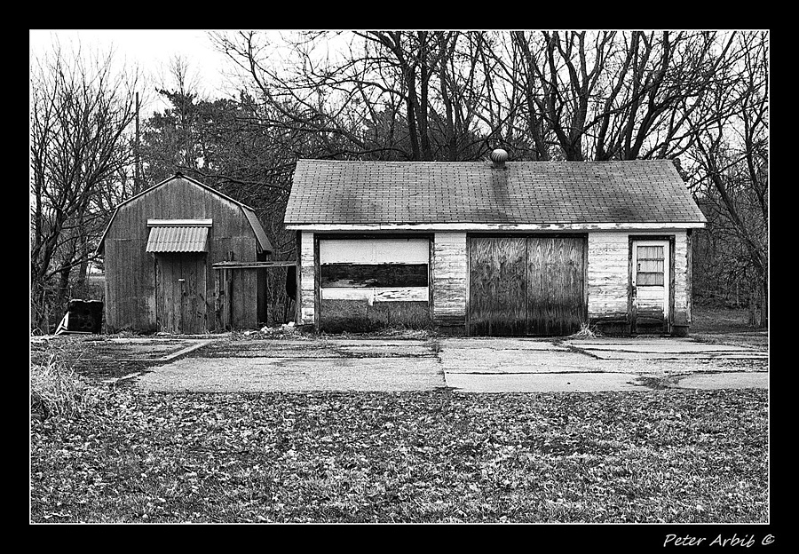 Abandoned Garage | ZEISS ZM C SONNAR F1.5 50MM <br> Click image for more details, Click <b>X</b> on top right of image to close