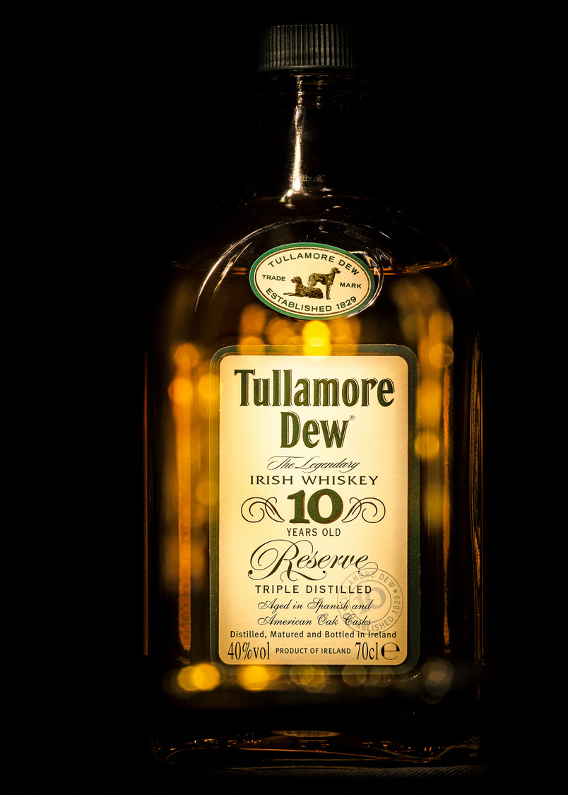 Tullamore Dew Irish Whiskey | ZEISS APO SONNAR F2 135MM <br> Click image for more details, Click <b>X</b> on top right of image to close