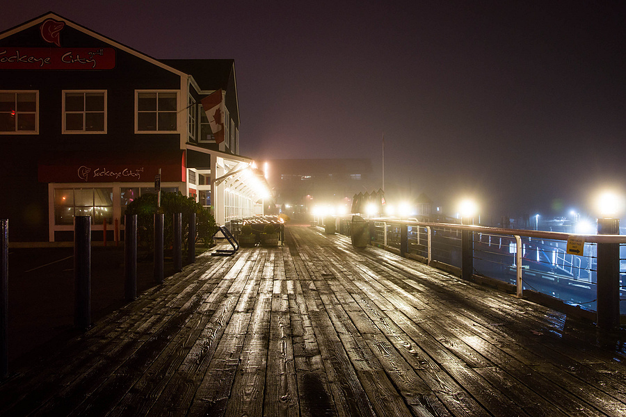 Steveton boardwalk in the fog | ZEISS ZA VARIO-SONNAR F2.8 24–70MM <br> Click image for more details, Click <b>X</b> on top right of image to close