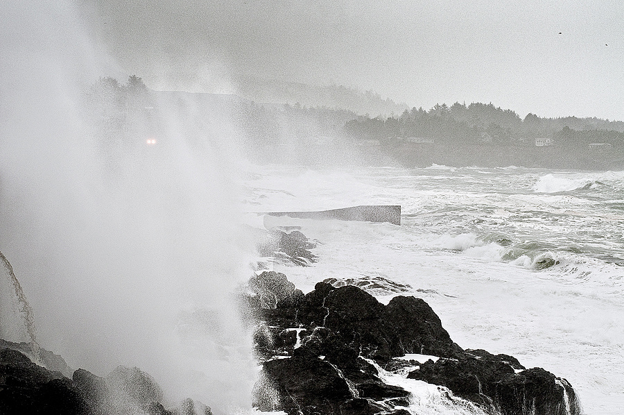 Boiler Bay, Storm of the Century | ZEISS PLANAR F1.4 50MM <br> Click image for more details, Click <b>X</b> on top right of image to close