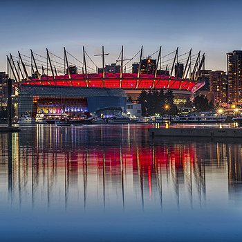 BC Place Twilight | ZEISS PLANAR F1.4 50MM